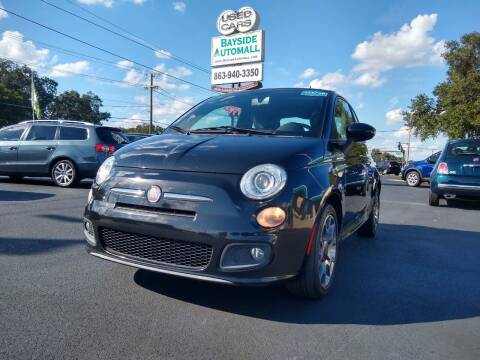 2012 FIAT 500 for sale at BAYSIDE AUTOMALL in Lakeland FL