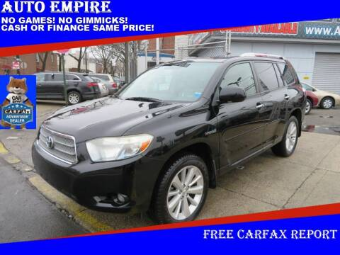 2009 Toyota Highlander Hybrid for sale at Auto Empire in Brooklyn NY