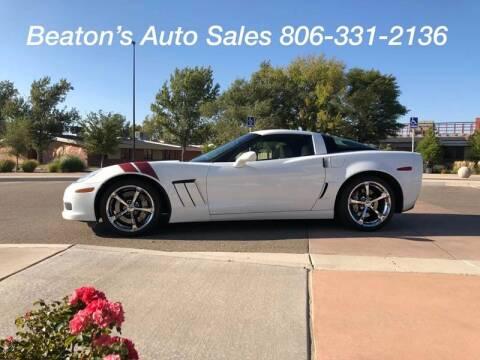 2012 Chevrolet Corvette for sale at Beaton's Auto Sales in Amarillo TX