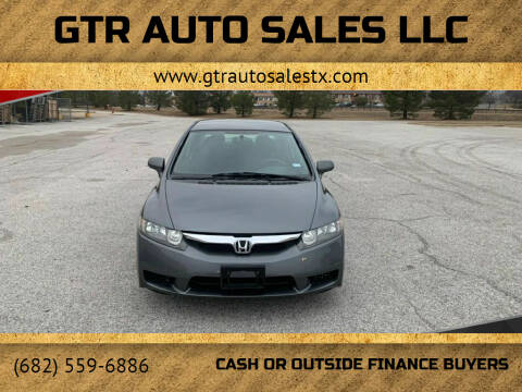 2009 Honda Civic for sale at GTR Auto Sales LLC in Haltom City TX