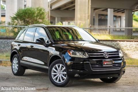 2012 Volkswagen Touareg for sale at Friesen Motorsports in Tacoma WA