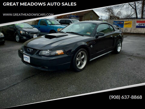 2004 Ford Mustang for sale at GREAT MEADOWS AUTO SALES in Great Meadows NJ