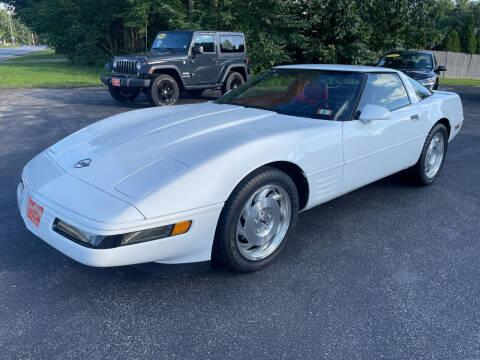 1993 Chevrolet Corvette for sale at Glen's Auto Sales in Fremont NH