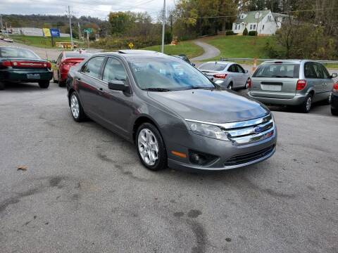 2011 Ford Fusion for sale at DISCOUNT AUTO SALES in Johnson City TN