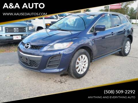 2011 Mazda CX-7 for sale at A&A AUTO in Fairhaven MA