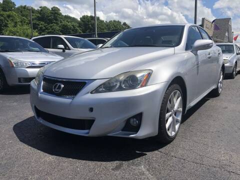 2011 Lexus IS 250 for sale at Instant Auto Sales in Chillicothe OH