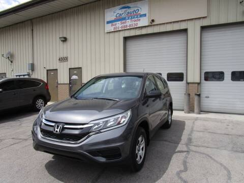 2015 Honda CR-V for sale at Car 1 Auto Sales in Murray UT