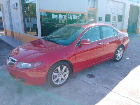 2004 Acura TSX for sale at QUALITY AUTO SALES OF FLORIDA in New Port Richey FL