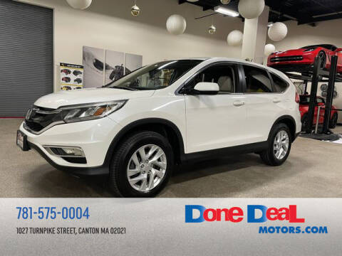 2015 Honda CR-V for sale at DONE DEAL MOTORS in Canton MA