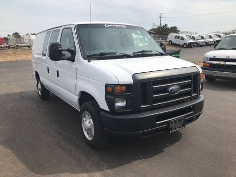 2013 Ford E-Series Cargo for sale at CARGO VAN GO.COM in Shakopee MN