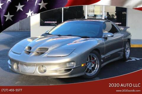 2001 Pontiac Firebird for sale at 2020 AUTO LLC in Clearwater FL