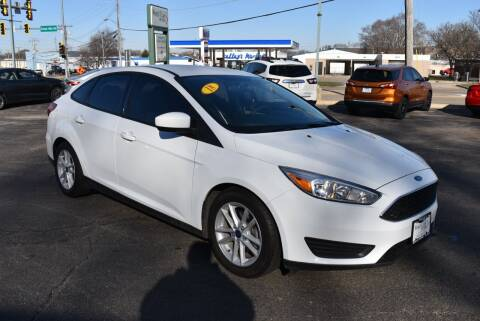 2018 Ford Focus for sale at World Class Motors in Rockford IL