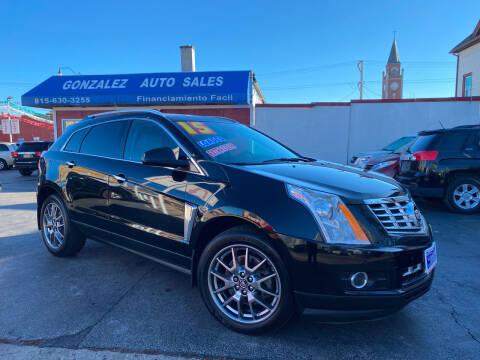 2015 Cadillac SRX for sale at Gonzalez Auto Sales in Joliet IL