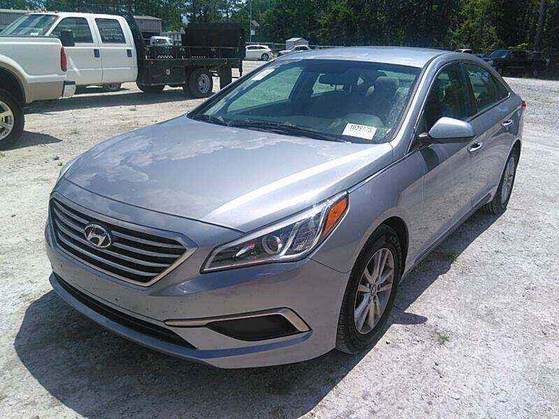 2017 Hyundai Sonata for sale at County Line Car Sales Inc. in Delco NC