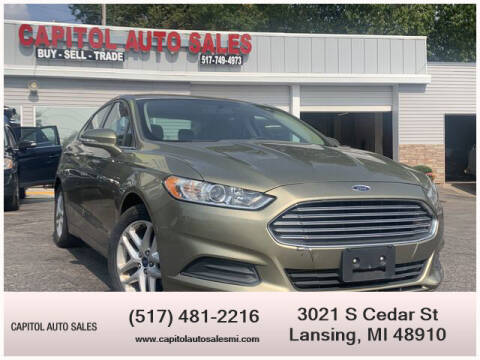 2013 Ford Fusion for sale at Capitol Auto Sales in Lansing MI