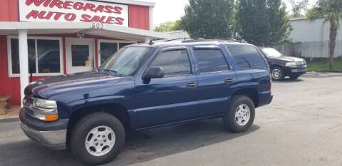 2006 Chevrolet Tahoe for sale at WIREGRASS AUTO SALES in Dothan AL