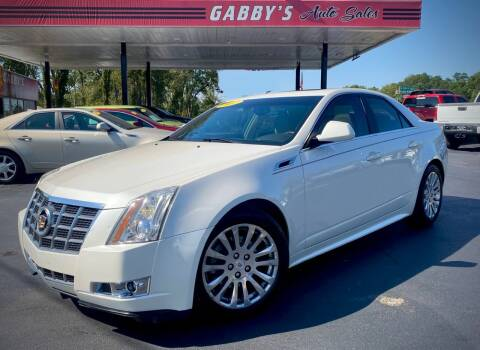 2012 Cadillac CTS for sale at GABBY'S AUTO SALES in Valparaiso IN