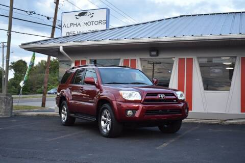 2007 Toyota 4Runner for sale at Alpha Motors in Knoxville TN