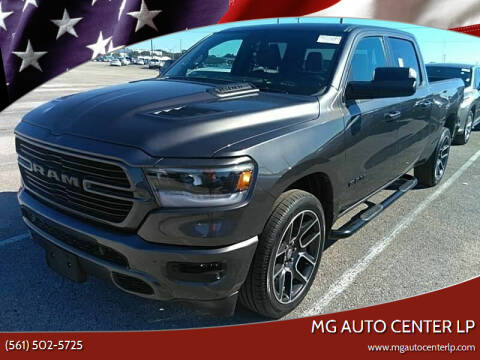 2020 Dodge Ram for sale at MG Auto Center LP in Lake Park FL