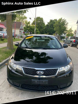 2013 Kia Forte for sale at Sphinx Auto Sales LLC in Milwaukee WI