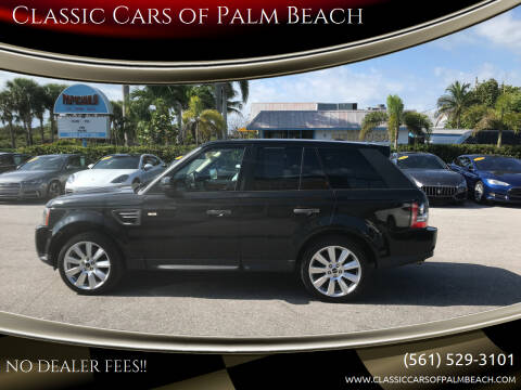 2011 Land Rover Range Rover Sport for sale at Classic Cars of Palm Beach in Jupiter FL