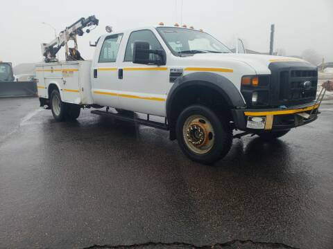 2008 Ford F-550 Super Duty for sale at Geareys Auto Sales of Sioux Falls, LLC in Sioux Falls SD