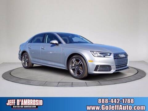 2018 Audi A4 for sale at Jeff D'Ambrosio Auto Group in Downingtown PA
