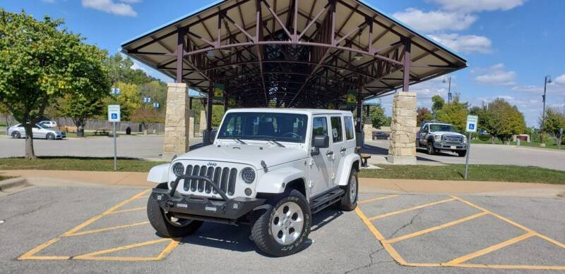 2013 Jeep Wrangler Unlimited for sale at D&C Motor Company LLC in Merriam KS