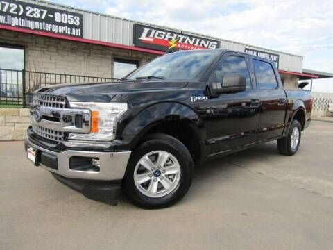 2020 Ford F-150 for sale at Lightning Motorsports in Grand Prairie TX