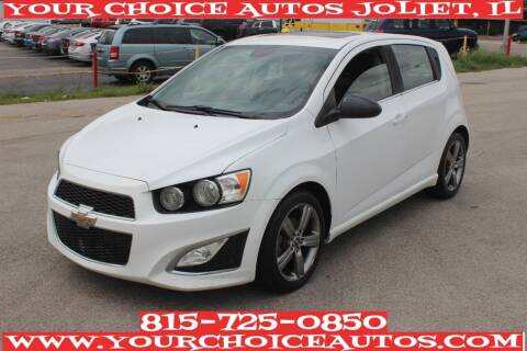 2013 Chevrolet Sonic for sale at Your Choice Autos - Joliet in Joliet IL