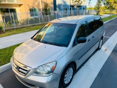 2006 Honda Odyssey for sale at LA Motors Miami in Miami FL
