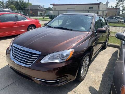 2013 Chrysler 200 for sale at Martell Auto Sales Inc in Warren MI