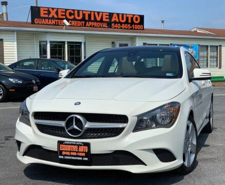 2016 Mercedes-Benz CLA for sale at Executive Auto in Winchester VA