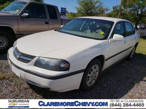 2005 Chevrolet Impala for sale at Suburban Chevrolet in Claremore OK
