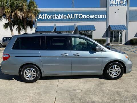 2007 Honda Odyssey for sale at Affordable Autos in Houma LA