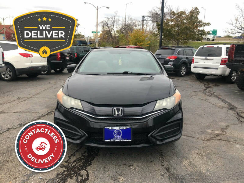 2014 Honda Civic for sale at E H Motors LLC in Milwaukee WI