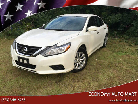 2016 Nissan Altima for sale at ECONOMY AUTO MART in Chicago IL
