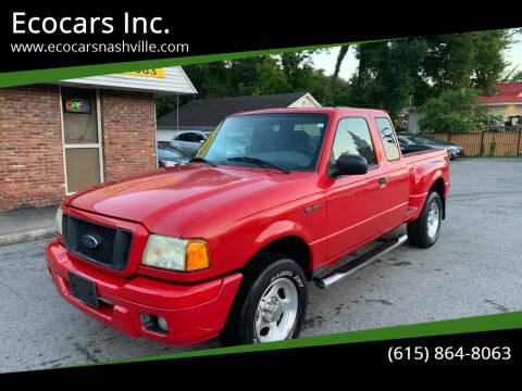 2004 Ford Ranger for sale at Ecocars Inc. in Nashville TN