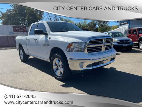 2016 RAM Ram Pickup 1500 for sale at City Center Cars and Trucks in Roseburg OR
