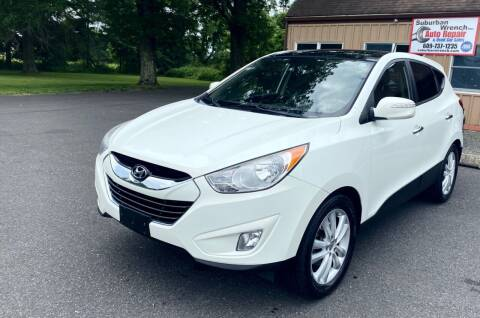 2011 Hyundai Tucson for sale at Suburban Wrench in Pennington NJ