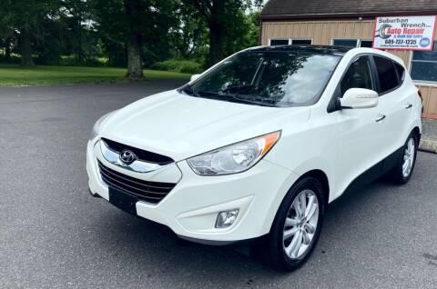 2011 Hyundai Tucson for sale at Suburban Wrench in Pennington NJ