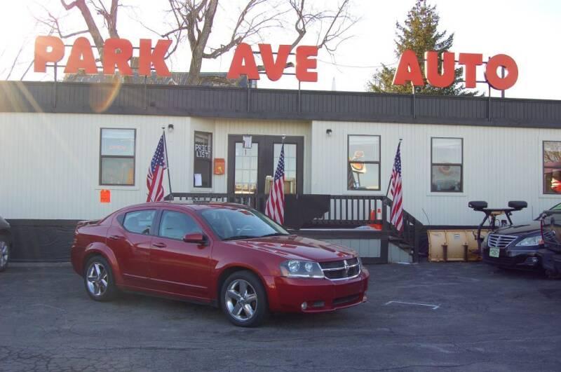 2008 Dodge Avenger for sale at Park Ave Auto Inc. in Worcester MA