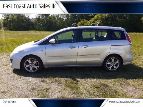 2008 Mazda MAZDA5 for sale at East Coast Auto Sales llc in Virginia Beach VA
