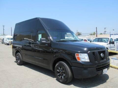2012 Nissan NV Cargo for sale at Atlantis Auto Sales in La Puente CA