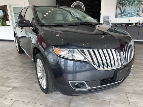 2013 Lincoln MKX for sale at Evolution Autos in Whiteland IN