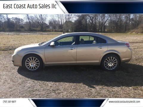 2007 Saturn Aura for sale at East Coast Auto Sales llc in Virginia Beach VA