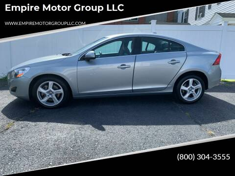 2013 Volvo S60 for sale at Empire Motor Group LLC in Plaistow NH
