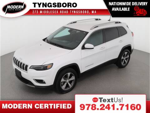2019 Jeep Cherokee for sale at Modern Auto Sales in Tyngsboro MA