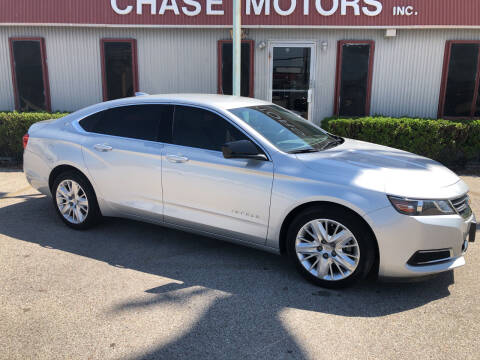 2017 Chevrolet Impala for sale at Chase Motors Inc in Stafford TX