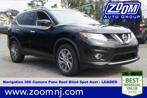 2015 Nissan Rogue for sale at Zoom Auto Group in Parsippany NJ